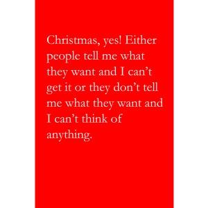 Larkin Christmas Cards (Christmas, yes!)
