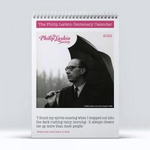 2022 Philip Larkin Centenary Calendar